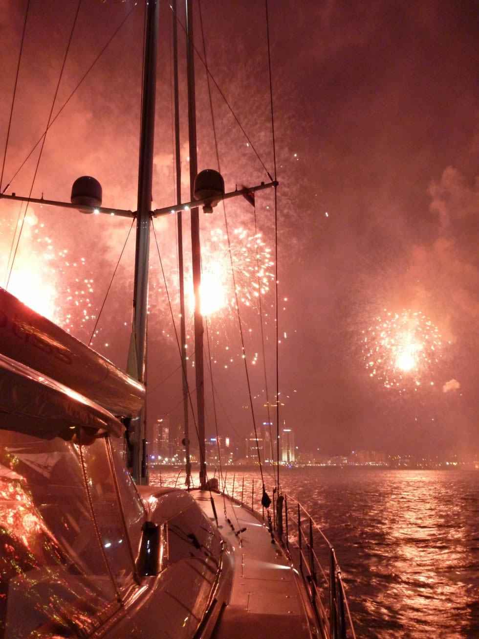 Sydney Harbour for New Year