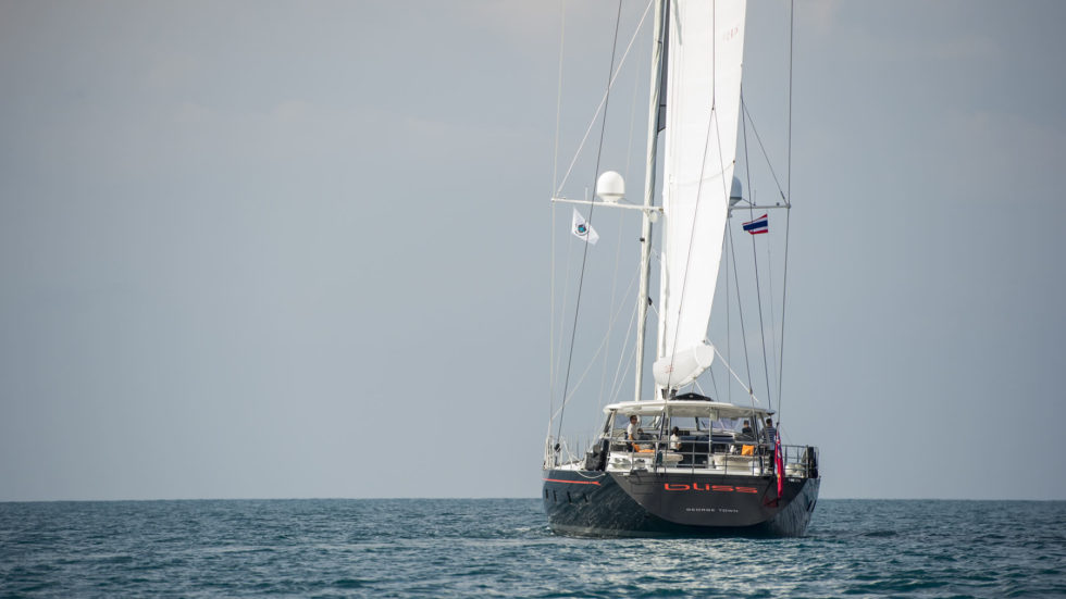 Racing in the Andaman Sea